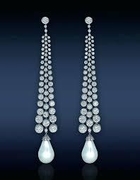 costume jewelry chandelier earrings fashion costume jewellery wedding gift clear diamante bling chandelier earrings costume jewellery