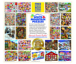 It is because our brains encourage the production of dopamine. Beach Day Seek Find 1000 Piece Jigsaw Puzzle White Mountain Puzzles