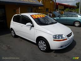 All Chevy chevy aveo 2006 : 2006 Chevrolet Aveo LS Hatchback in Summit White - 534442 | Jax ...
