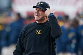 Big Ten Notes Michigan S Jim Harbaugh Passes On Paterno Question