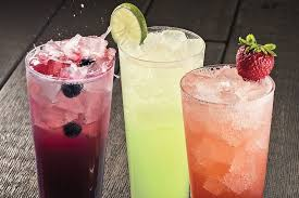 an array of handcrafted limonatas with fun flavors elevates olive garden s beverage flavors include