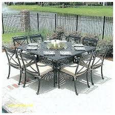 cast aluminum patio dining set 8 person outdoor dining table 8 person patio dining set 8