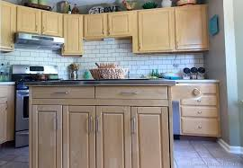 Paint Backsplash Magnificent Painted Subway Tile Backsplash Remodelaholic