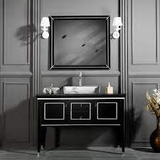 Black Silver Bathroom Vanities I 1 Free Standing Bath Cabinet