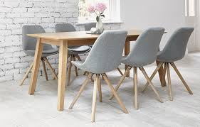 table 6 chairs. frances dining table and 6 chairs d