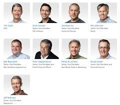 Apple Organizational Chart Apple Posts New Official Executive Organization Chart Tnw