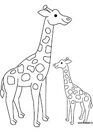 Dessin Imprimer Prefix De Girafe