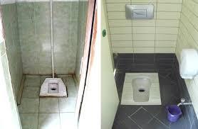 ... squat toilets