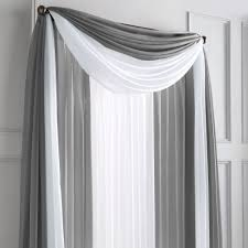 wholehome md silhouette sheer rod pocket panel