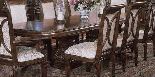AICO Villagio Dining Room Set Broadway Furniture - Aico dining room set