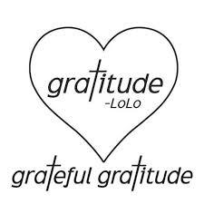 Grateful Gratitude with LoLo