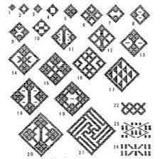 こぎん刺し刺し子 小物雑貨の作り方図案無料レシピ刺繍