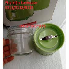 Giá bán Phụ kiện máy xay. Cối thủy tinh xay khô máy xay sinh tố Sunhouse  5112 5111 5115