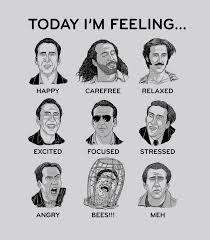 How Are You Feeling Today You Can Use This Nicolas Cage