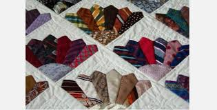 Six Mens Ties To Make A 'Fancy Fans' Block Then Make A Beautiful ... & Six Mens Ties To Make A 'Fancy Fans' Block Then Make A Beautiful Quilt Adamdwight.com