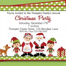 Cute Christmas Invitation Wording Military Bralicious Co