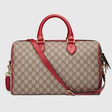 gucci 409527. gucci limited edition gg supreme top handle bag with embroideries detail 3 409527 n