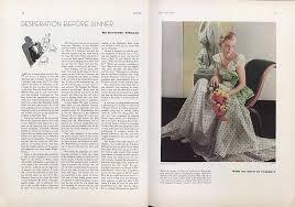 Desperation Before Dinner | Vogue | JULY 15, 1932