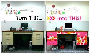 E Ideas To Decorate Your Office Cubicle Trendy Decorating Workspace Bold  Design How My Shelves