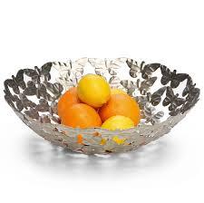 Decorative Metal Fruit Bowls Buy Butterfly Sanctuary Fruit Bowl Oxfam Shop 13