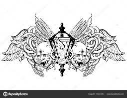 Vector Hand Getekende Illustratie Stockvector Katytutynina