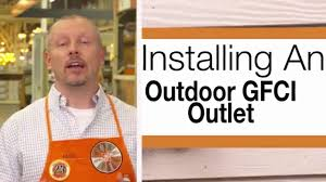 installing an outdoor gfci outlet overview installing an outdoor gfci outlet overview