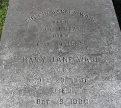 Mary Jane Griffin Wade (1831-1906) - Find A Grave Memorial