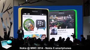 Nokia @MWC 2014 - Nokia X, Nokia X+ ...