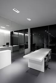 white office interior. clean white and grey office interior _ p