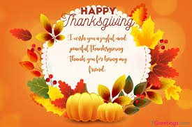 Make Personal Thanksgiving Wishes Cards Online Free