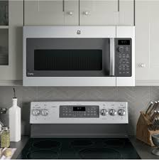Fast Cooking Ovens Ge Pvm9179skss 17 Cu Ft Over The Range Microwave With
