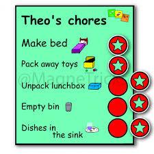 Magnetic Chore Chart Magnetricks