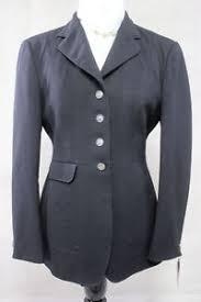 Pikeur Diana Size Chart Details About Euro Star Ladies Black Hunt Dressage Coat Size 38 R12 Ref 1419 1