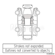 car pickup truck drawing outlines not converted to objects - Buy ...