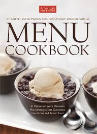 American Test Kitchen Free Holiday Book Give Away Americas Test Kitchen Menu Cookbook