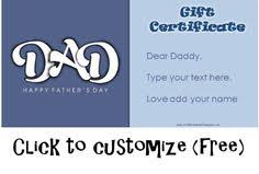 Gift Cards Maker 25 Best Fathers Day Images Fathers Day Gifts Free Printable Gift