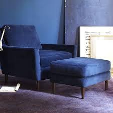 blue velvet chair47