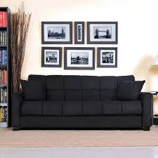 Amazon.com: Baja Convert-a-couch and Sofa Bed, Black, Stylish and  Comfortable Sofa Sleeper Converts to a Full Bed with Touch of a Hand:  Kitchen & Dining