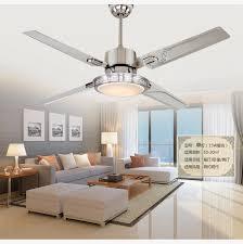 modern bedroom ceiling fan. 48inch remote control ceiling fan lights led bedroom lamp light minimalism modern stainless steel blades-in fans from o