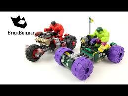 <b>Lego Super Heroes 76078</b> Hulk vs. Red Hulk - Lego Speed Build ...