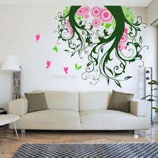 Magic Hand Craving Wall Art Stickers For Living Room Decals Butterflies Tree  Vinyl Home Kitchen Decoration Removable