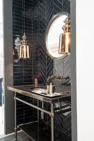 Small Picture Best 10 Black bathrooms ideas on Pinterest Black tiles Black
