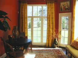 patio door with window above images