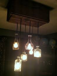 we went to the local hardware and purchased heavy duty wall anchors lamp wire threaded lamp tubing keyless light sockets lamp washer nuts