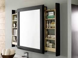 Frameless Bathroom Mirror With Shelf Decor GylesHomescom - Bathroom mirror design ideas