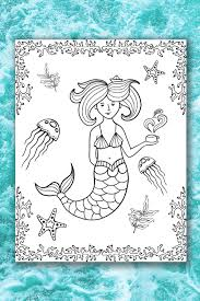 We have free printable coloring pages that includes mermaids and other coloring subjects that you may be interested to work on. Mermaid Color Pages Life Is Sweeter By Design