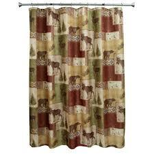 bacova guild mountain lodge printed nylon 20 x 33 olive multi bath rug com