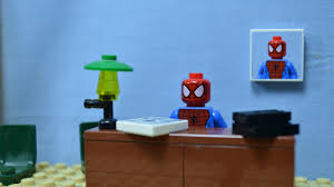 spider man blue toy lego