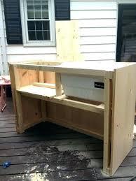 wooden deck cooler cedar cooler stand wood deck coolers deck cooler stand plans rollback with wood