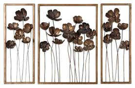 metal wall art wall art dazzling metal flowers wall art with 3 piece set fancy floral metal wall art  on metal wall art amazon with metal wall art kitchen metal wall art and large size of horse